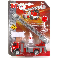 Машина Пожарная 15см металл. 1:64 с аксесс.