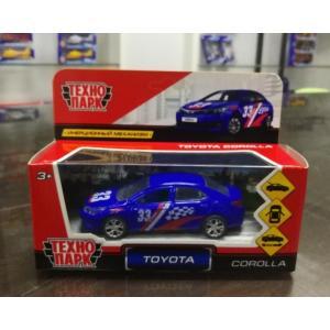 Машина Toyota corolla спорт 12см, открыв. двери, инерц.