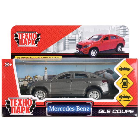 Машина Mercedes-benz gle coupe 12см, металл, открыв. двери, инерц, серый