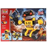 Конструктор Робот 3в1 303 дет. свет