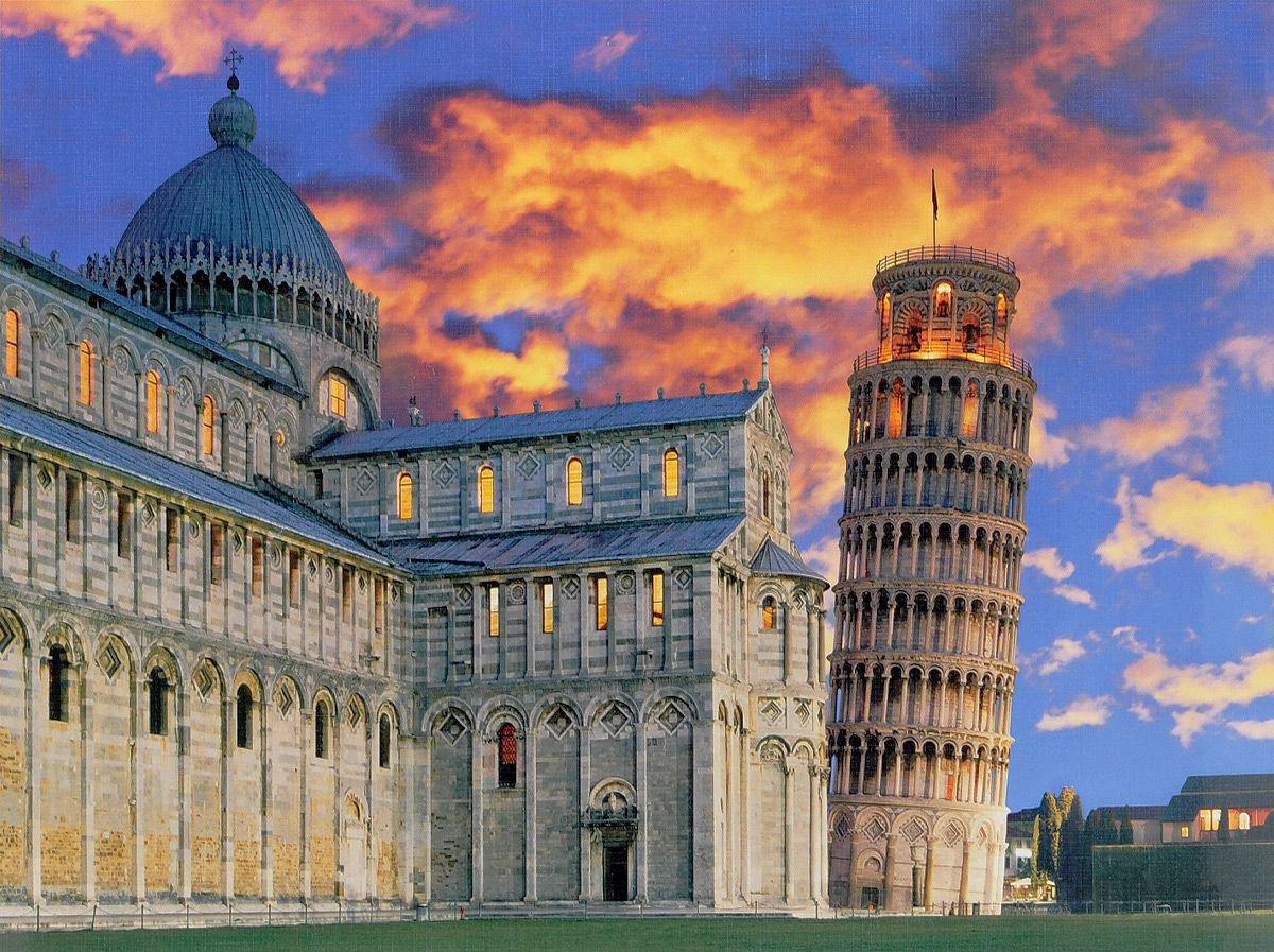 Пазл 500 Clementoni 30103 Италия Вид на Пизанскую башню