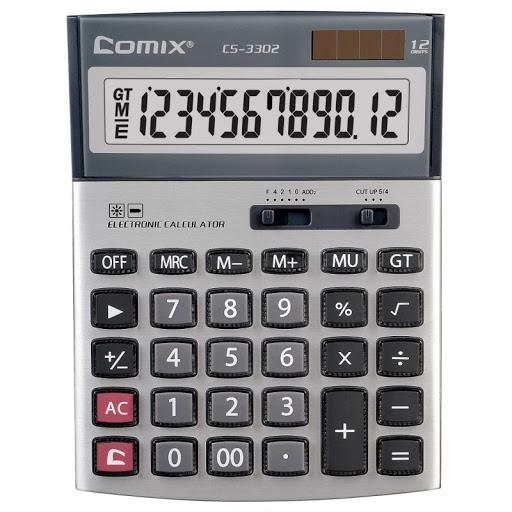 Калькулятор 12 разр. COMIX настольный