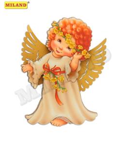Магнит деревянный Ангел мечты