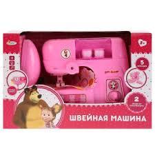 Швейная машинка Маша и Медведь на бат., свет+звук