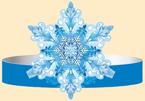 Праз Ободок Снежинка