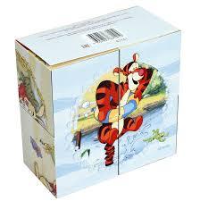 Кубики 4шт Step Медвежонок Винни (Disney)