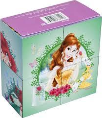 Кубики 4шт Step Принцессы (Disney)