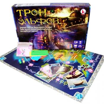 Игра Настольная Ходилка Трон эльфов
