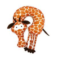 Мягконабивная Подушка-Подголовник Жираф