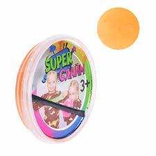 Слайм Super с вишневыми блестками 160 гр.