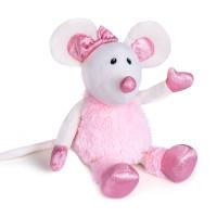 Мягконабивная Мышка Николь 20см