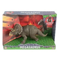 Фигурка Динозавра Dino World Трицератопс 16см