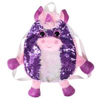 Мягконабивная Сумка-рюкзак детская Единорог