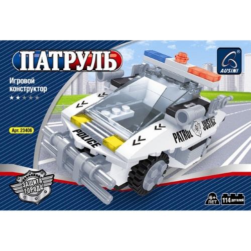 Конструктор Патруль Перехватчик 114 деталей