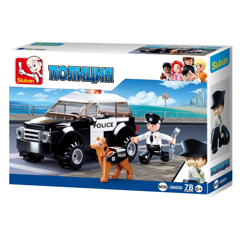 Конструктор Полиция: Патрульный экипаж 78 дет.