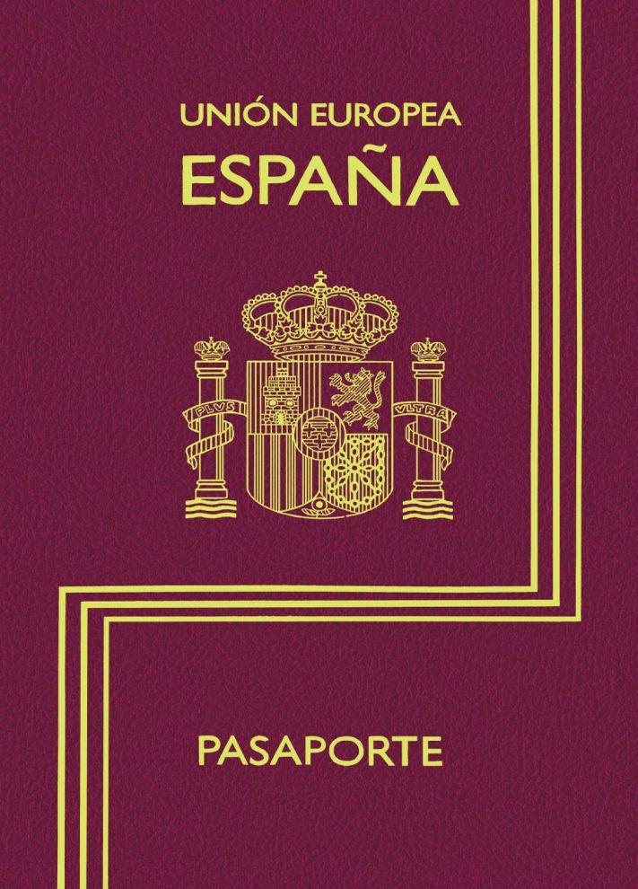 Зап. книжка А6 16л нелин Паспорт Испания 80г/кв.м