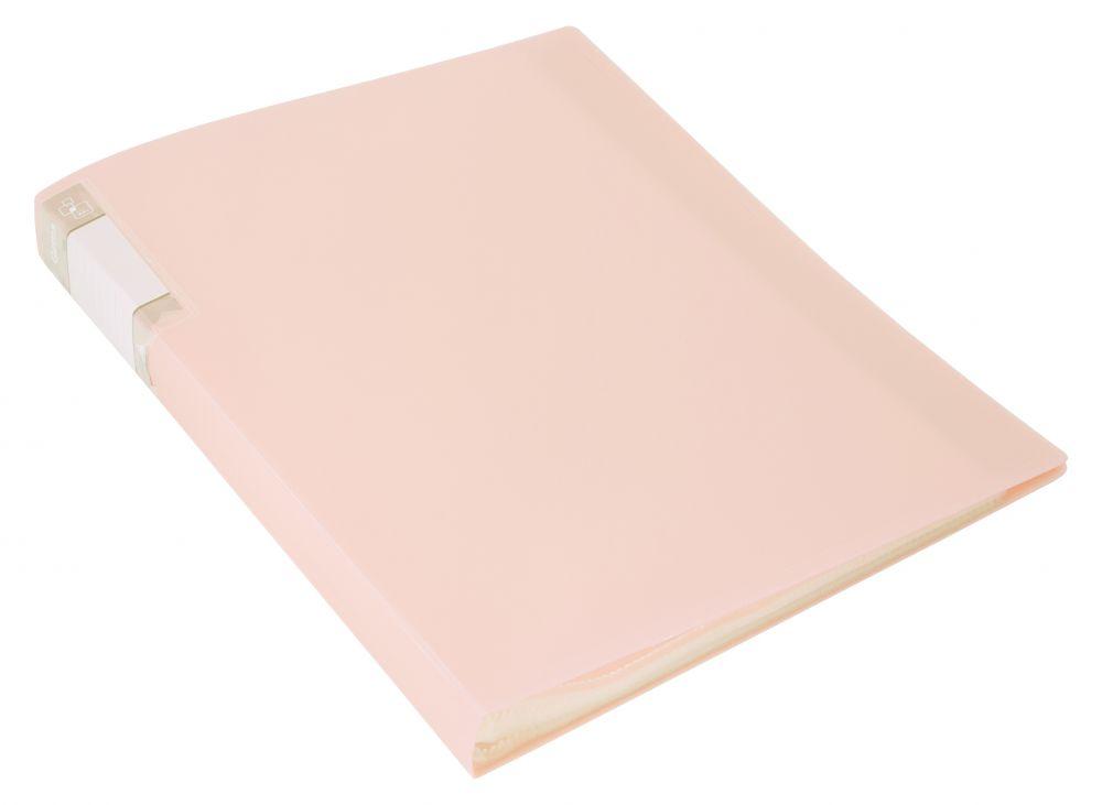 Папка-файл А4 20л Бюрократ Gams кремовый жемчуг 0,7мм