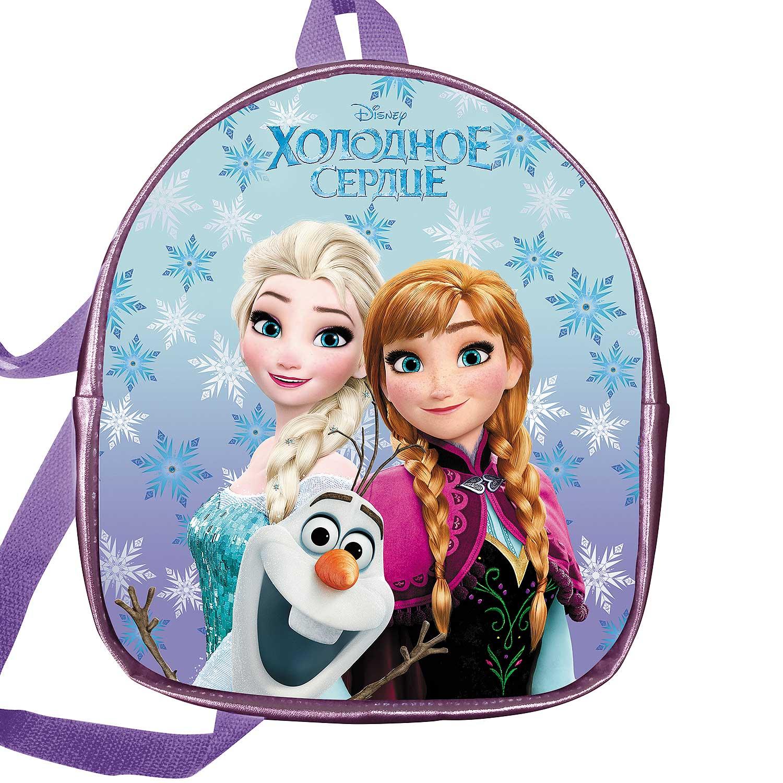 Рюкзак детский Hatber Холодное сердце DISNEY экокожа с пайетками