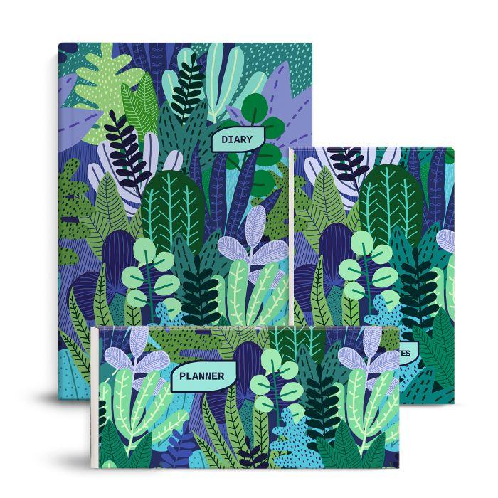 Подарочный набор Идеальное планирование Яркие джунгли (Ежедневник неда