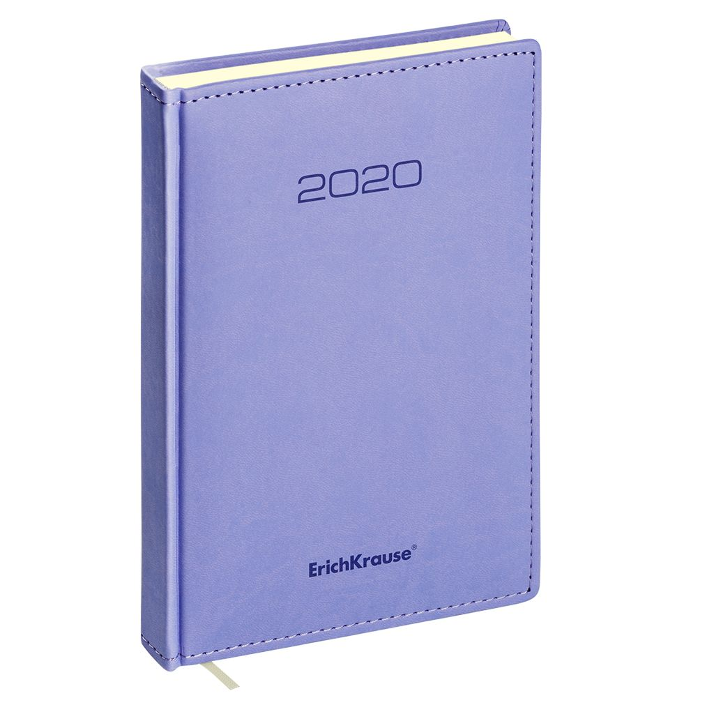 Ежедневник А5 2020г Erich Krause Vivella фиолетовый