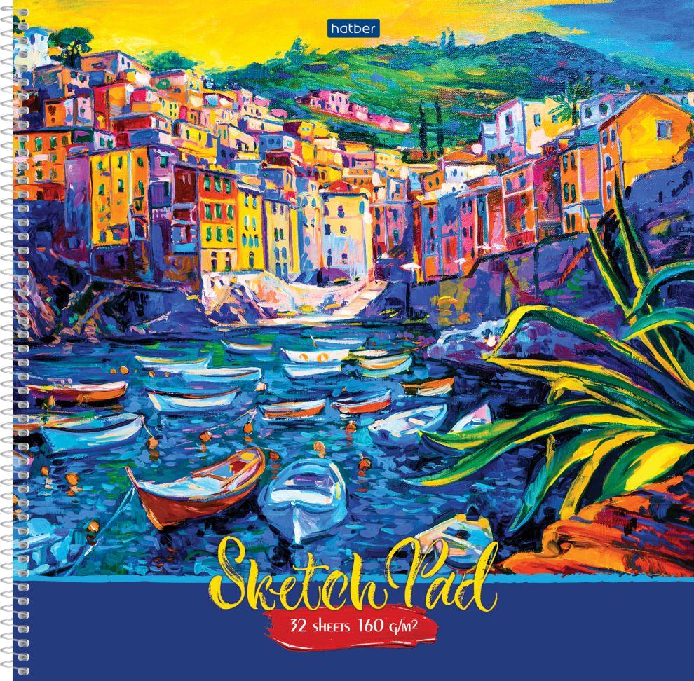 Альбом д/рис А3 32л спир Импрессионизм SketchBook 160г/кв.м