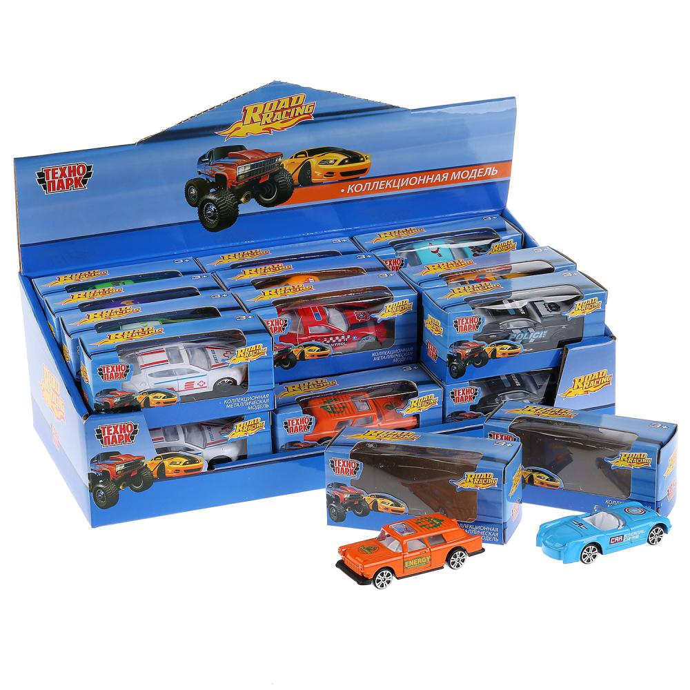 Машина Road Racing 7,5см металл в ассорт
