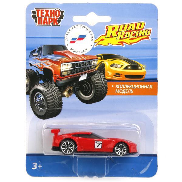 Машина Road Racing Гонки 7,5см металл в ассорт