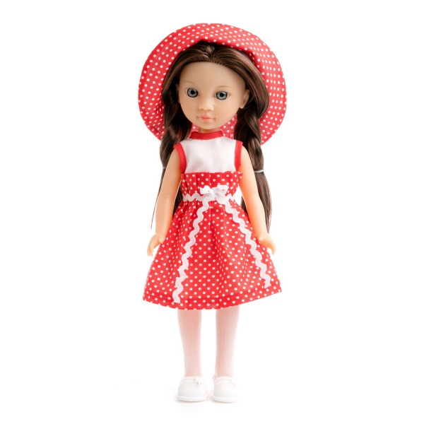 Кукла Туяна в саду
