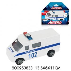 Машина Motorro Полиция инерц металл., 1:43
