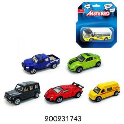 Машинка Motorro ассорти металл инерц 1:60