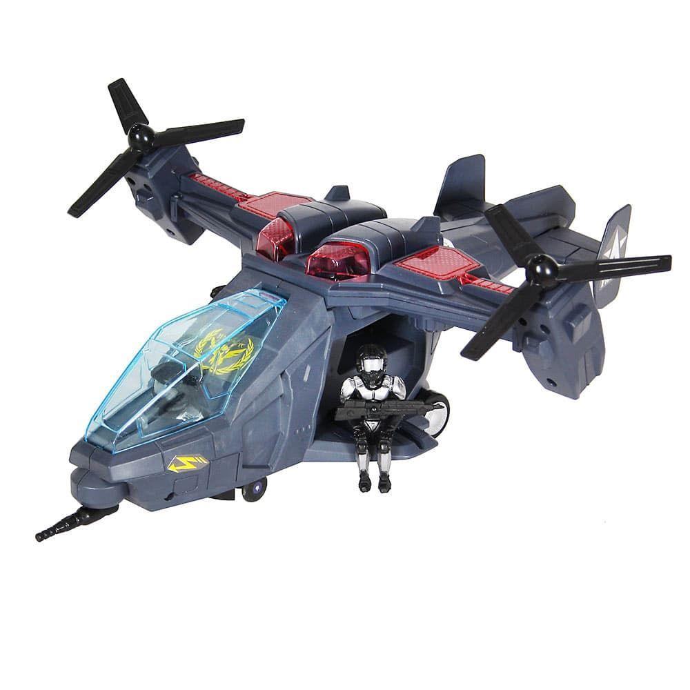 Вертолет свет/звук, батарейки пласт