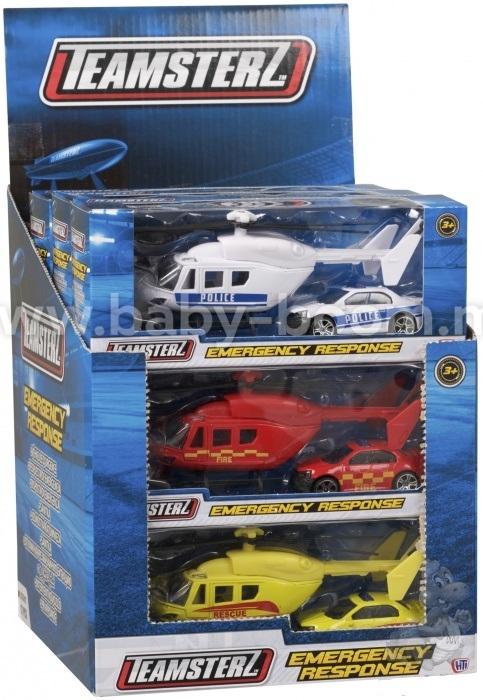 набор Команда спасения (вертолет+машина)