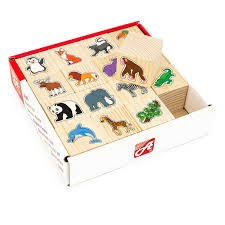 Кубики 16шт В зоопарке