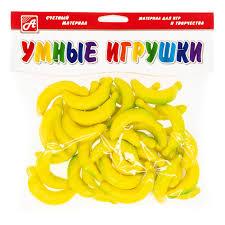 Развивающая Счетный материал Бананчики 24 шт.