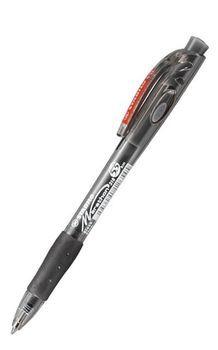 Ручка шариковая Stabilo Tropikana автомат черная 0,38мм