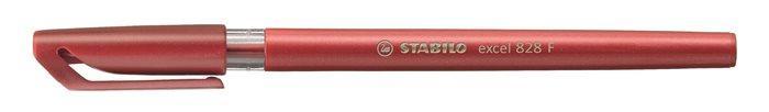 Ручка шариковая Stabilo Excel красная 0,38мм