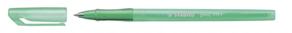 Ручка шариковая Stabilo Galaxy зеленая 0,3мм