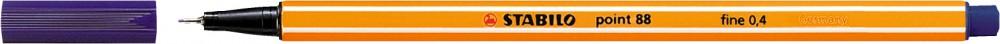Ручка капиллярная STABILO Point 0.4 берлинская лазурь