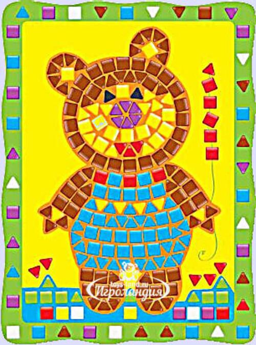 АКЦИЯ19 Творч Мозаика ART Медведь