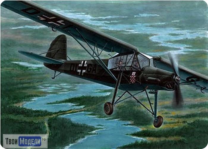 Сборная модель Самолет Fi-156 Шторьх 1/72