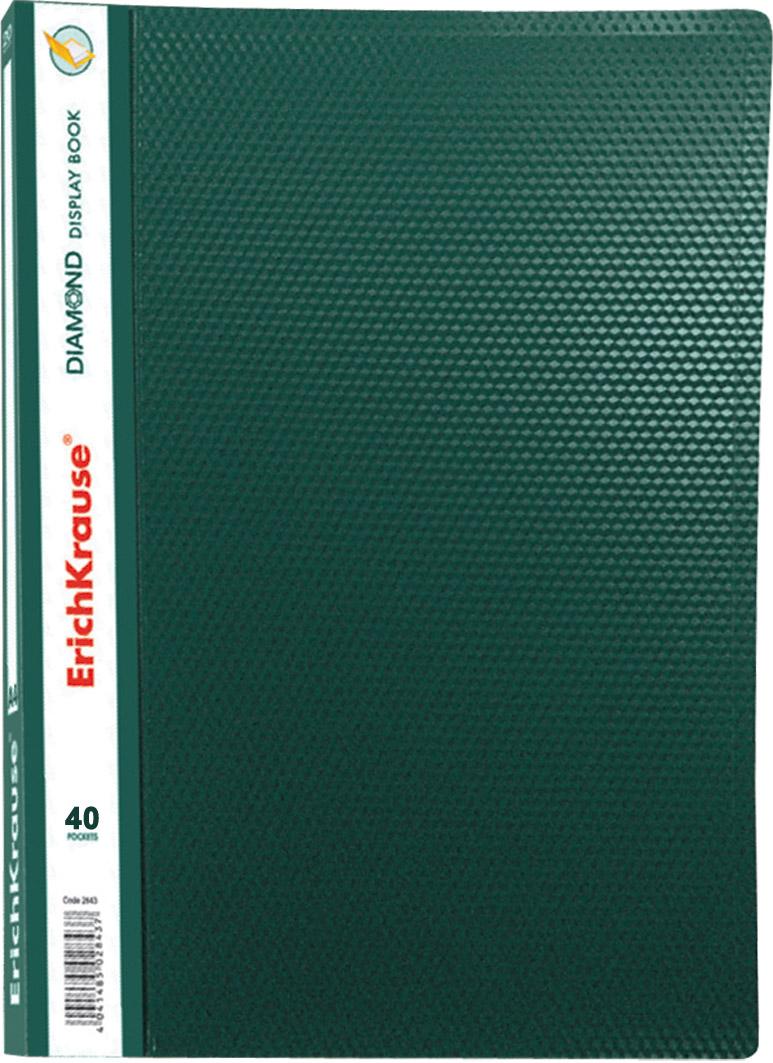 Папка-файл А4 40л EK Diamond зеленая