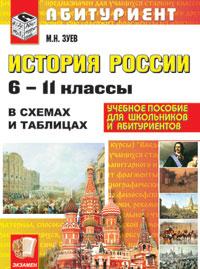 История России: 6-11 кл.: В схемах и таблицах к учеб. Федерального перечня
