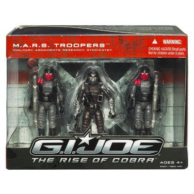 набор Mars Troopers Солдаты (свет, звук)