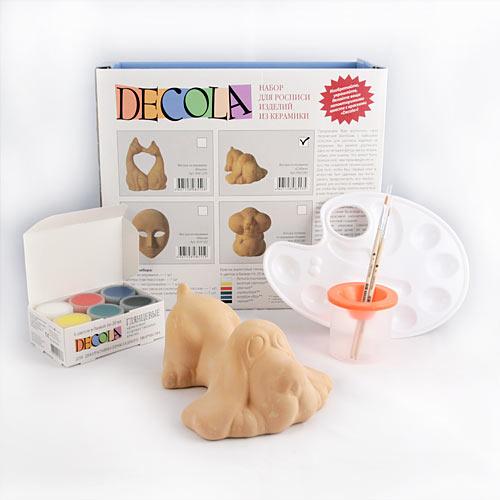Набор д/росписи изделий из керамики Decola Собака