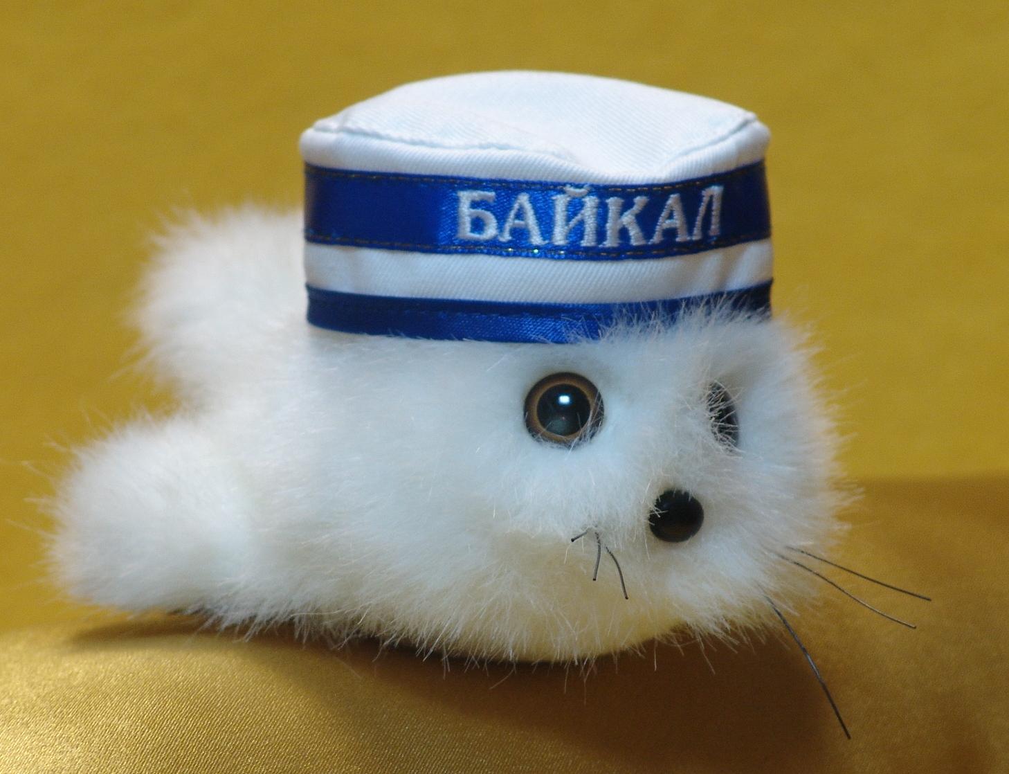 Сувенир Иркутск 350 Мягкая игрушка Нерпенок