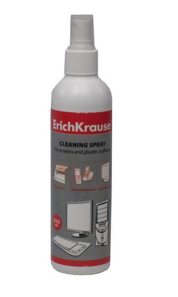 Средство для чистки экранов, спрей Erich Krause 250мл