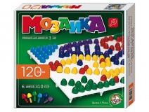 Мозаика 120 фишек d-10 6 цветов: Для детей от 3 лет