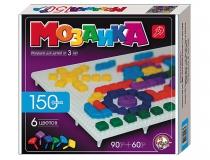 Мозаика 150 фишек 6 цв фигурная