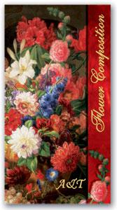 Телефонная книжка А6 Цветы