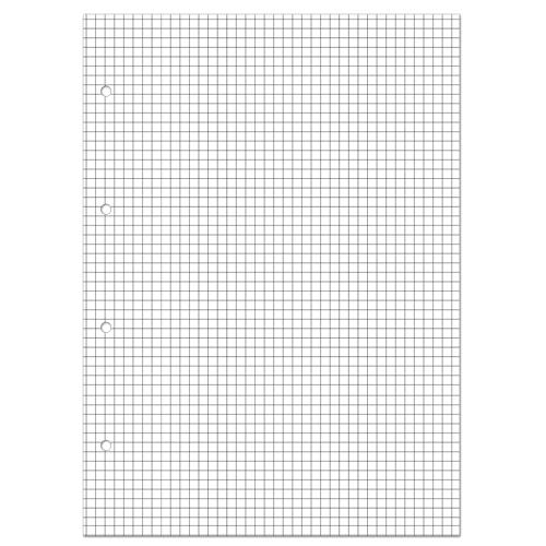 Блок сменный для тетради А5 80л белый клетка